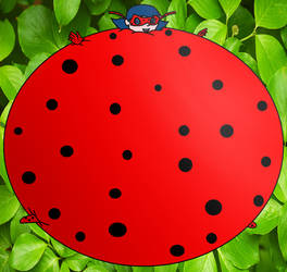 Inflated Marinette Dupain-Cheng Lady Bug by MedalBambi