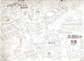 Evil Doodles Of Doodlenesssssss #1