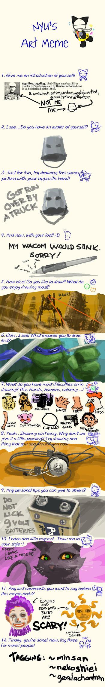 Tagailog's Nyu Art Meme by tagailog