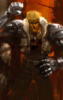 Cyborg Bounty Hunter: Isiah by tagailog
