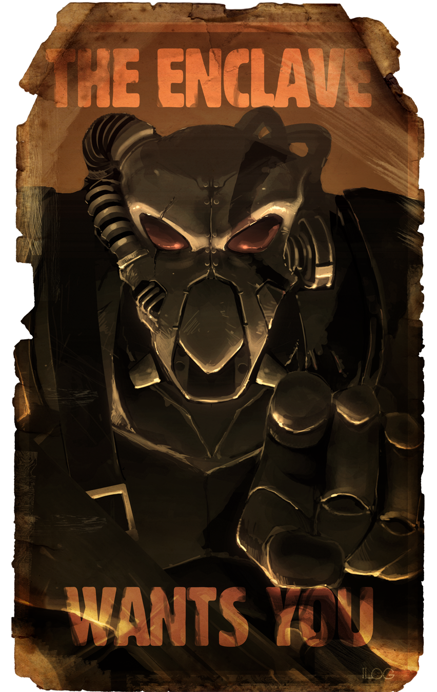 Enclave Recruitment Poster by tagailog