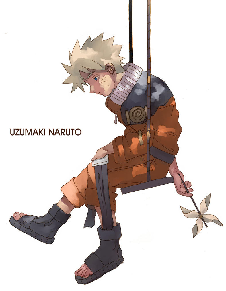 Naruto Alone by tagailog