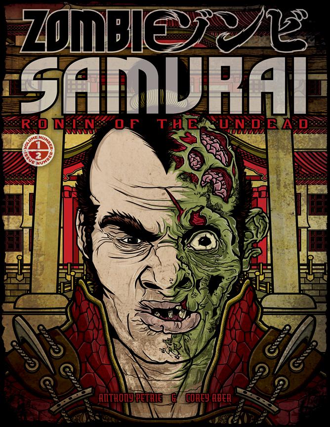 Zombie Samurai 2 Cover by APetrie74