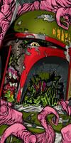 Zombie Boba Fett by APetrie74