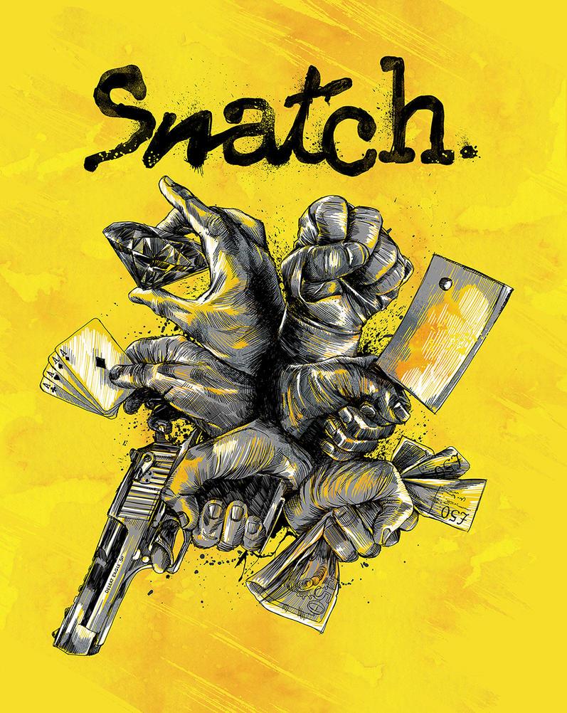 Snatch Blu-Ray Cover by APetrie74