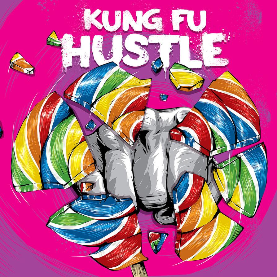Kung Fu Hustle Blu-Ray Cover by APetrie74