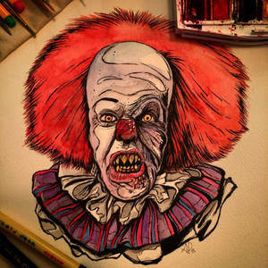 Pennywise Watercolor