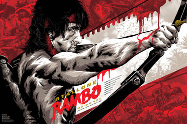 Rambo: First Blood Part II by APetrie74