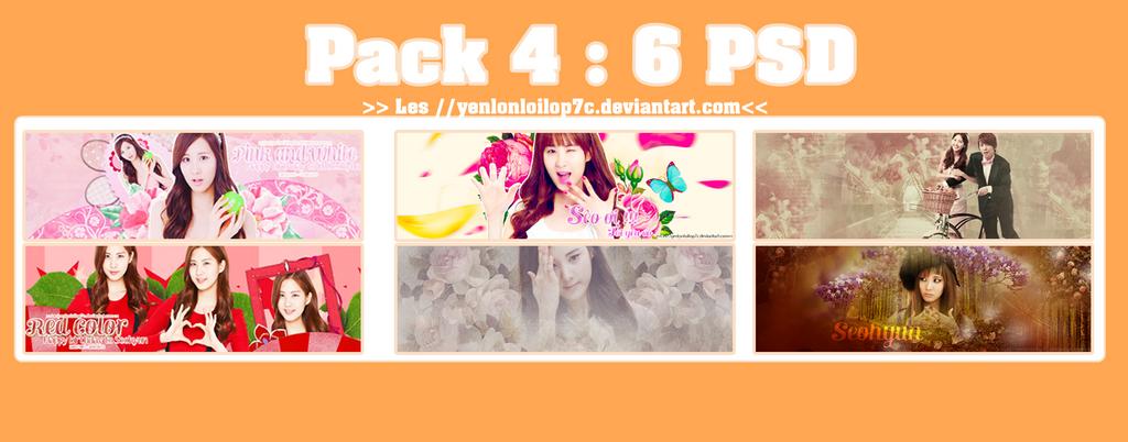 Pack 4 - 6 PSD - Seohyun by yenlonloilop7c