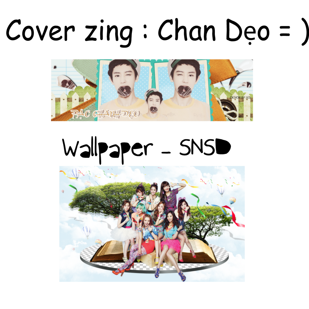 Cover Zing Chan - Wallpaper SNSD by yenlonloilop7c