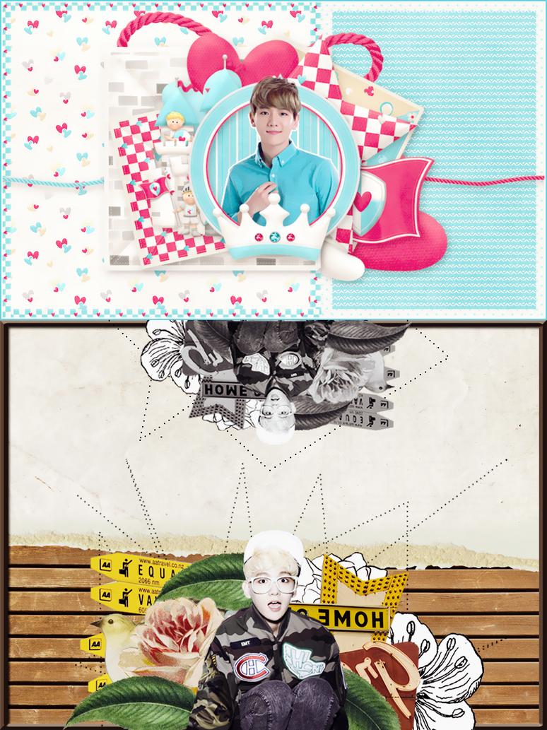 [PSD]Happy Birthday Byun Baekhyun - EXO By Les by yenlonloilop7c