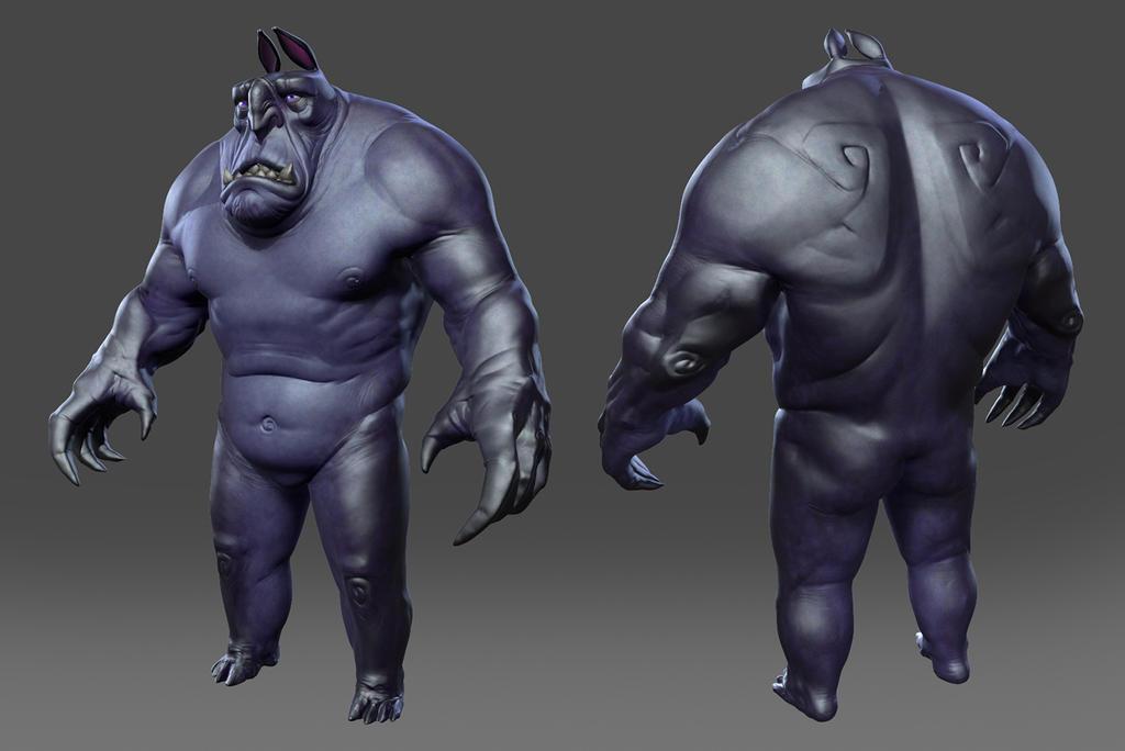 Monstrosus by gennady