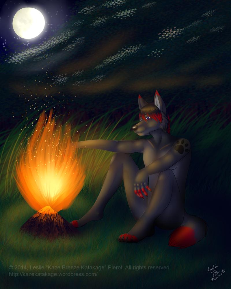 COMMISSION: Darkwolf611 by Kaze-Breeze-Katakage