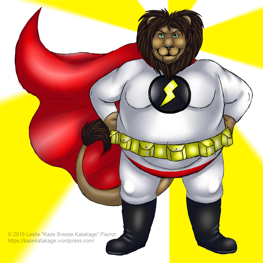 COMMISSION: Super Lion by Kaze-Breeze-Katakage