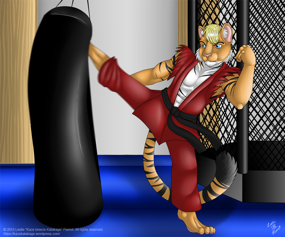 COMMISSION: Benny the Tiger by Kaze-Breeze-Katakage