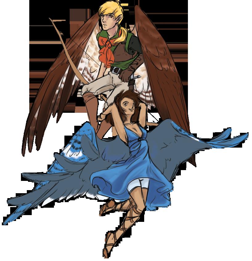 Races of Dragons' Cove Avians__by_seroph-d7bciwo