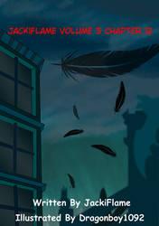 JackiFlame Comic Cover