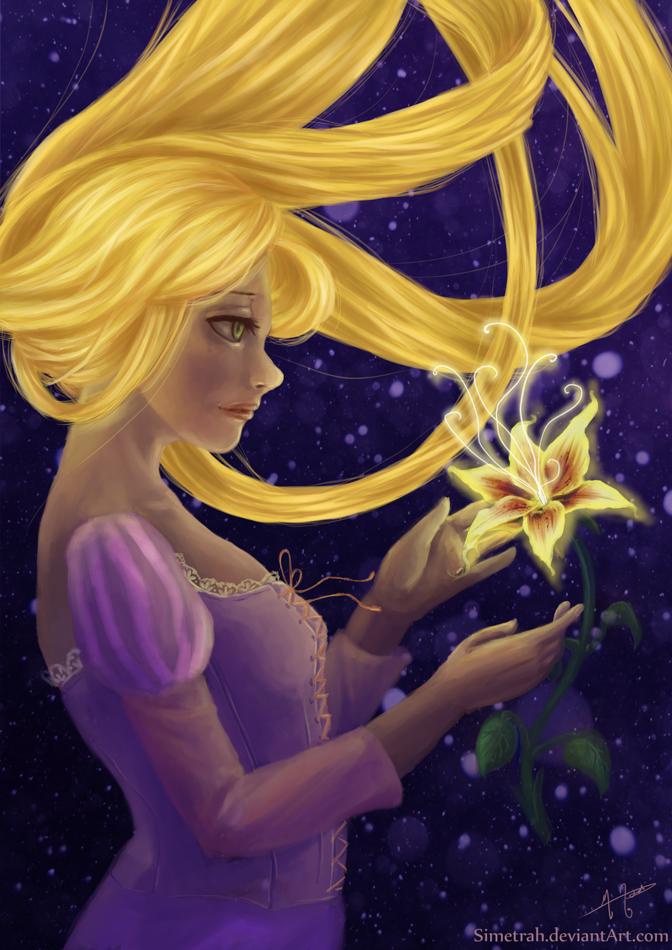 Rapunzel by Simetrah