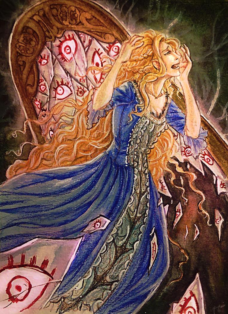 Art Trade : Leda-Valentyne O.S by Simetrah