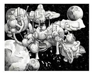 Drifter Colony by QedzWorld