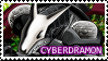 Cyberdramon stamp by RinaTiger-Art