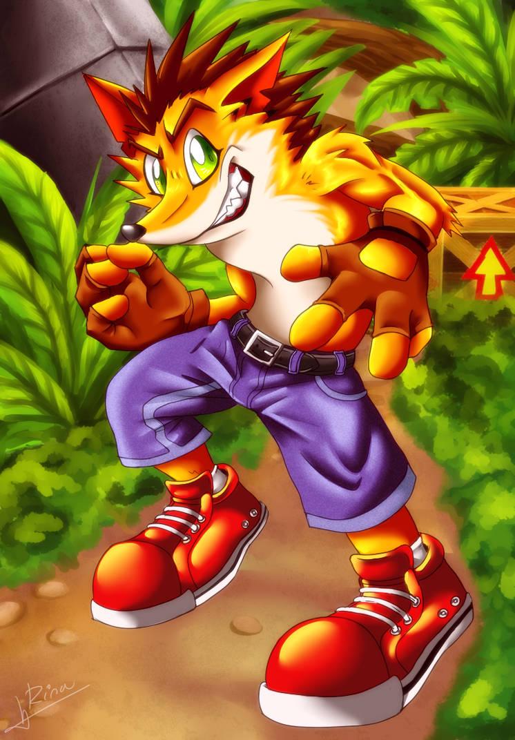 Crash Bandicoot by RinaTiger-Art