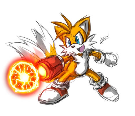 Daily sketch: Tails