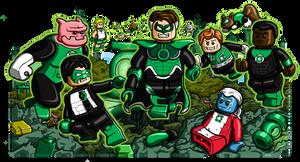 Lego Green Lanterns