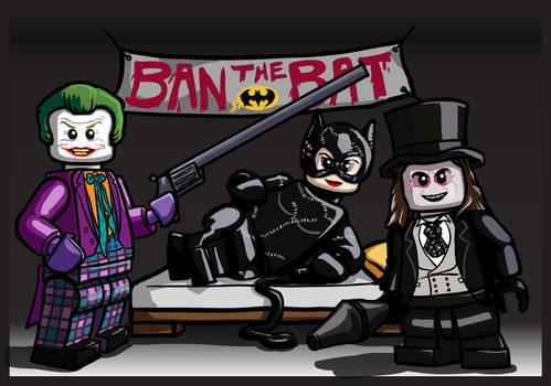 LEGO Batman Burton Villains