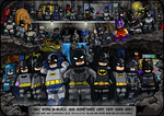 Batmen - Dark Knights and Caped Crusaders (Update)