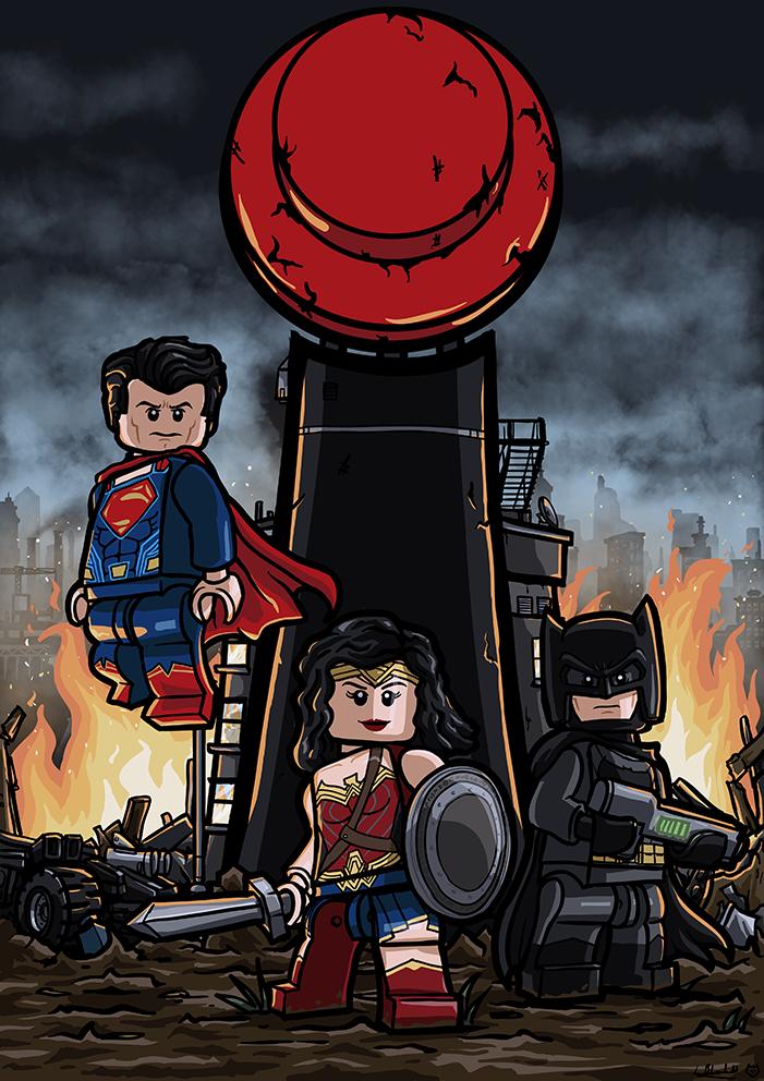 Comission for LEGO magazine BRICKS. by Catanas192