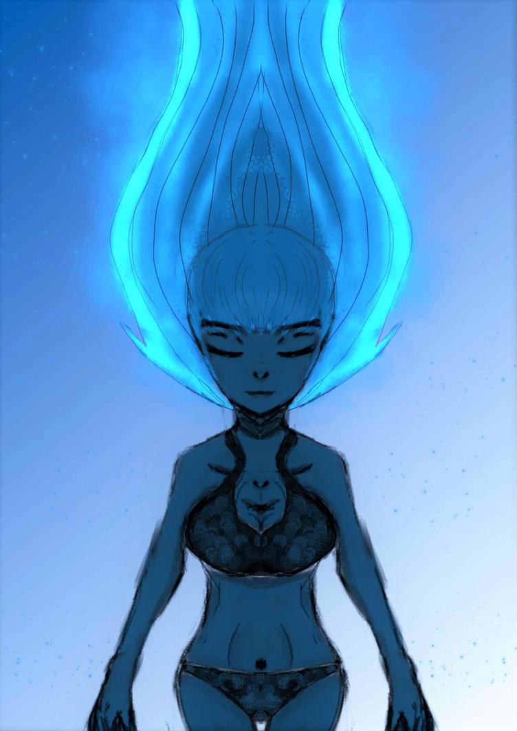 Flame Spirit by divapixie24