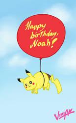 Pikachu for Noah