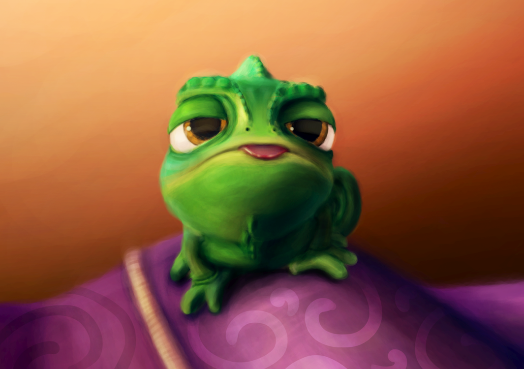 Pascal - Tangled by Foxeus on DeviantArt
