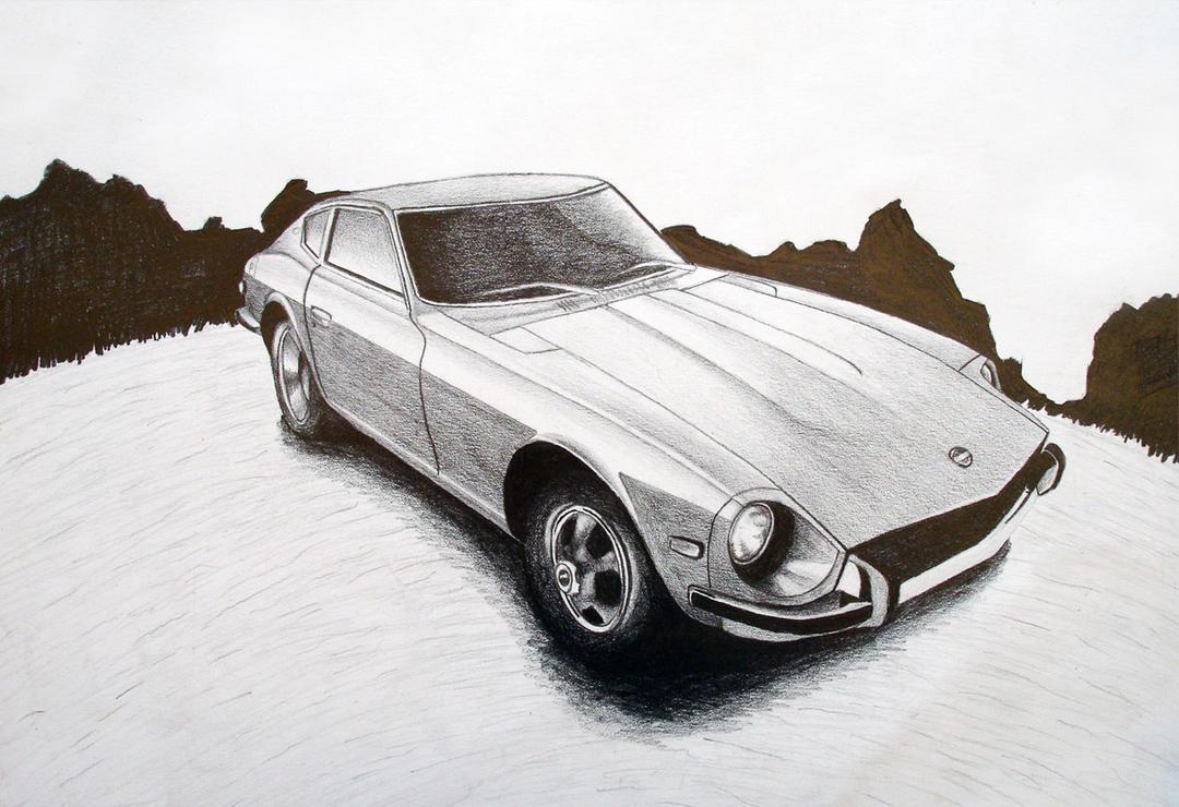 Datsun 240z by ~MMINC on