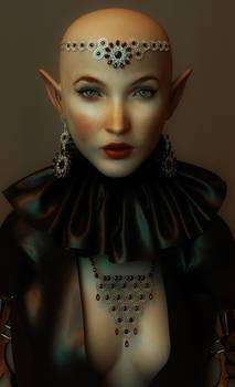 Elf Chancellor Dithra