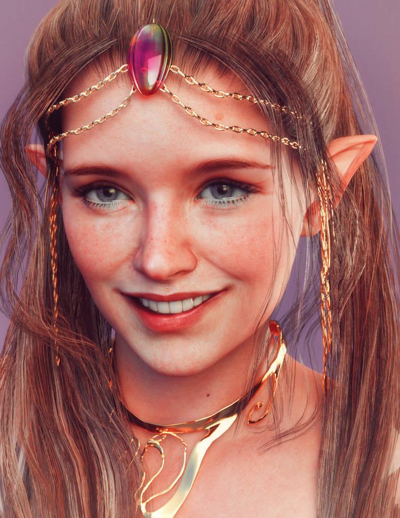 Smiling Elf