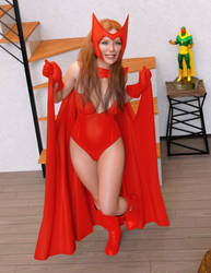 Classic Scarlet Witch