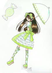 Minty Green Lolita