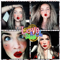 LOVE ME AND HATE ME PSD by BeautifulSurprise94