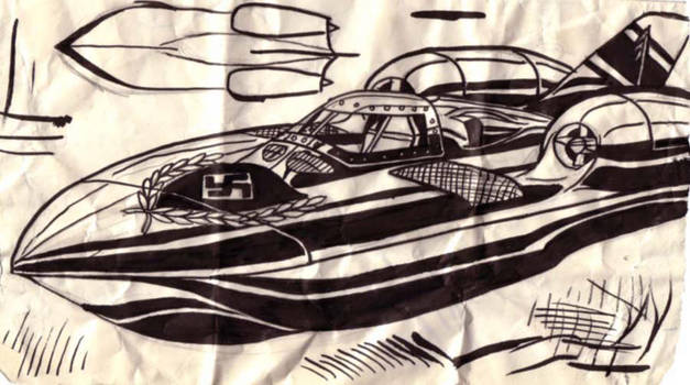 Nazi Speedboat