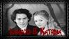 Ichabod / Katrina Stamp by deathroman13