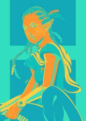 Hiru - Palette Challenge by Art-Eli