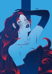 Poison Ivy - Palette Challenge by Art-Eli