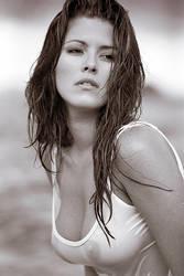 Alicia wet shirt by albertofoto