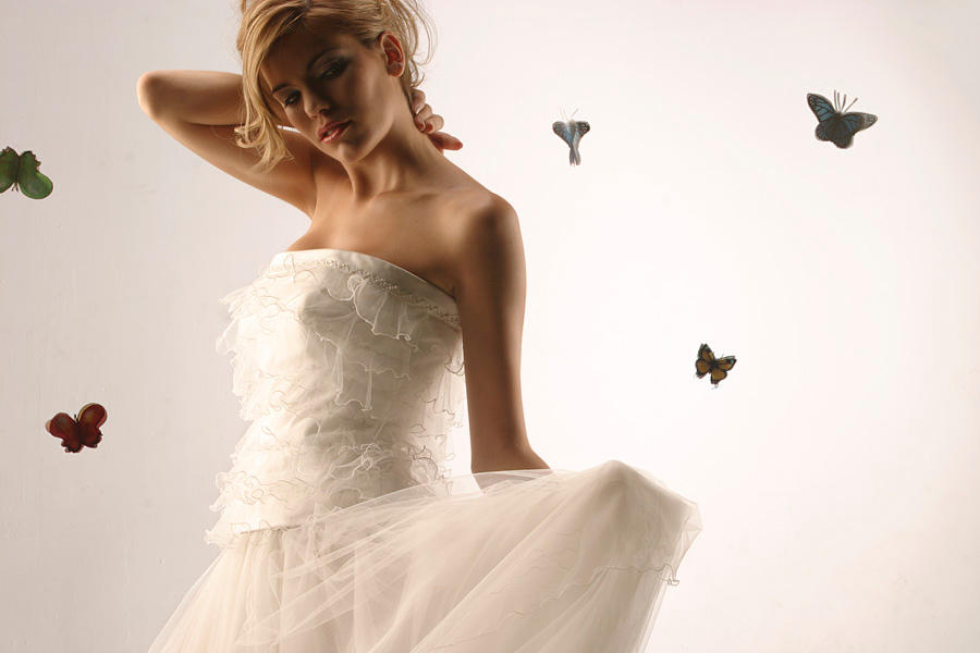 Butterfly Bride by albertofoto