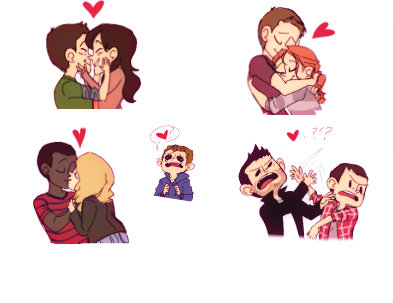 Teen Wolf PhotoBooth by GalaxyStep