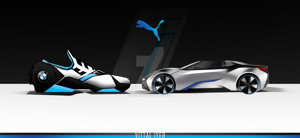 A concept shoe based on the BMW i8 Spyder by PeregrineX2012 on ...