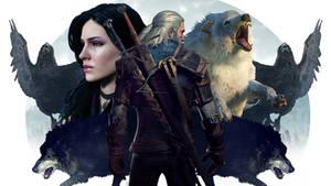 Geralt Wallpaper by MissMediocre