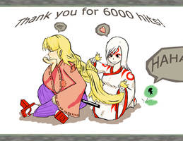 6000 hits by Cherry-sama